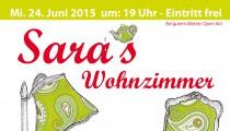 Konzert bei filzfrieda: Sara's Wohnzimmer