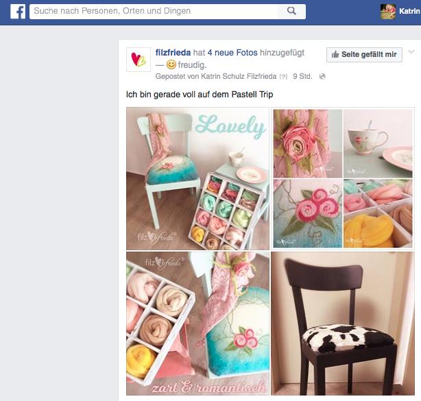 Kennt Ihr eigentlich schon meine facebook Seite?