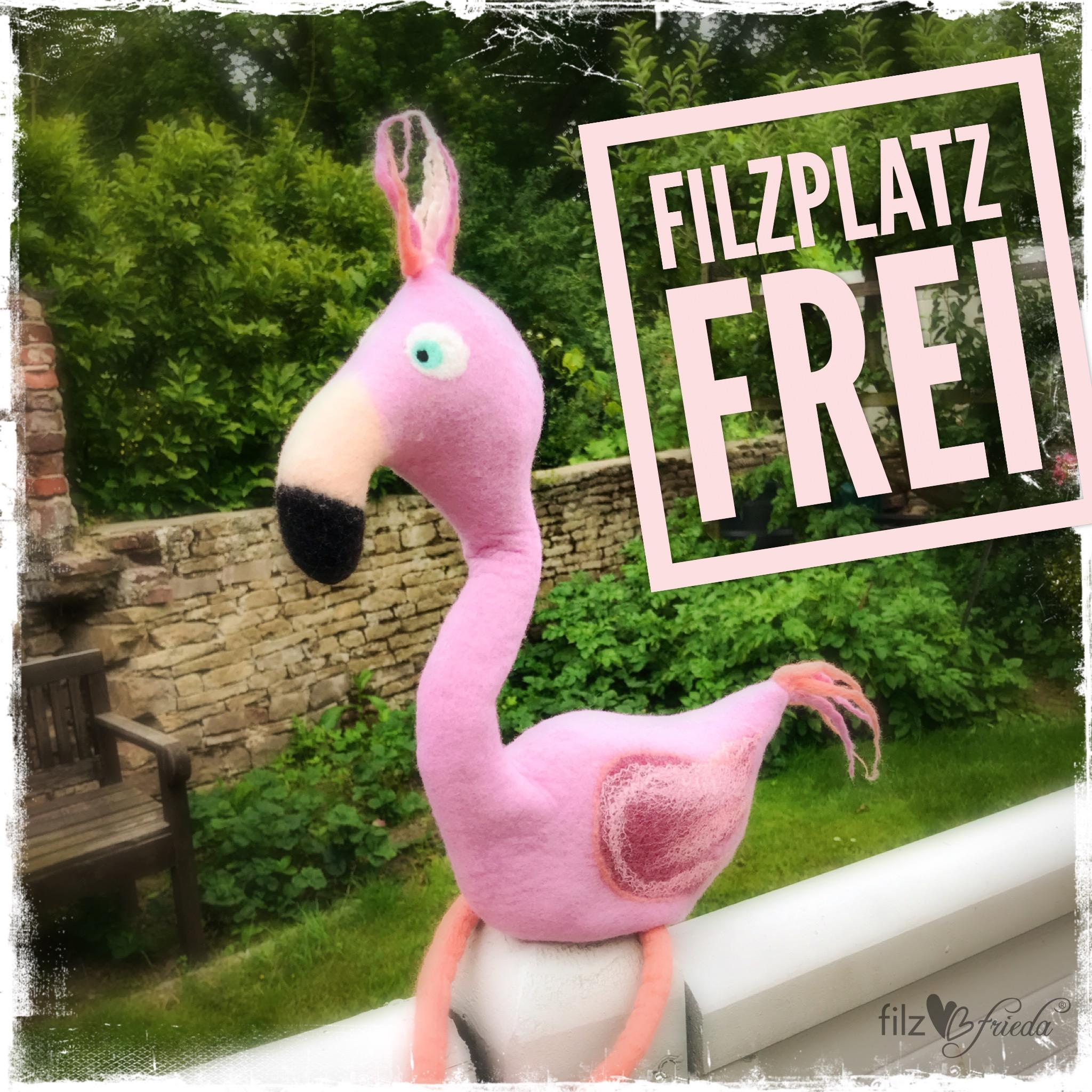 Witzige Filzwesen & filzen für den Sommer … Plätze frei!