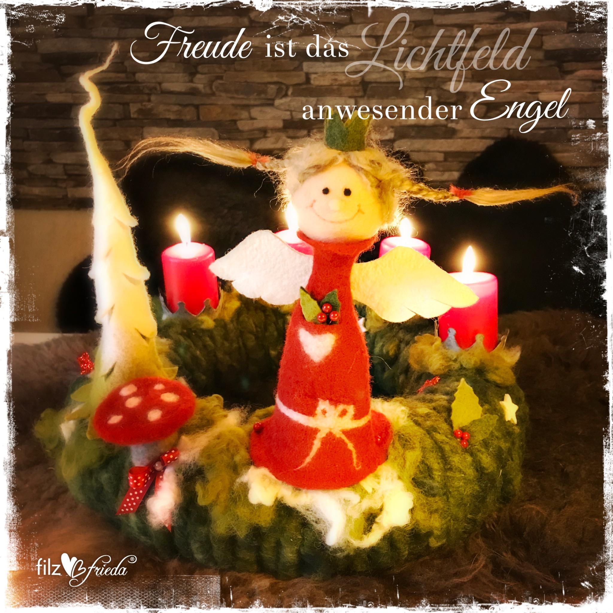 Filzen für den Advent II … Plätze frei!