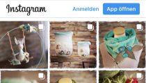 Frisch gefilztes gibt's auf Instagram
