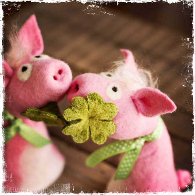 Geschützt: Filz Tutorial zur DIY-Box … Sunny das Glücksschweinchen